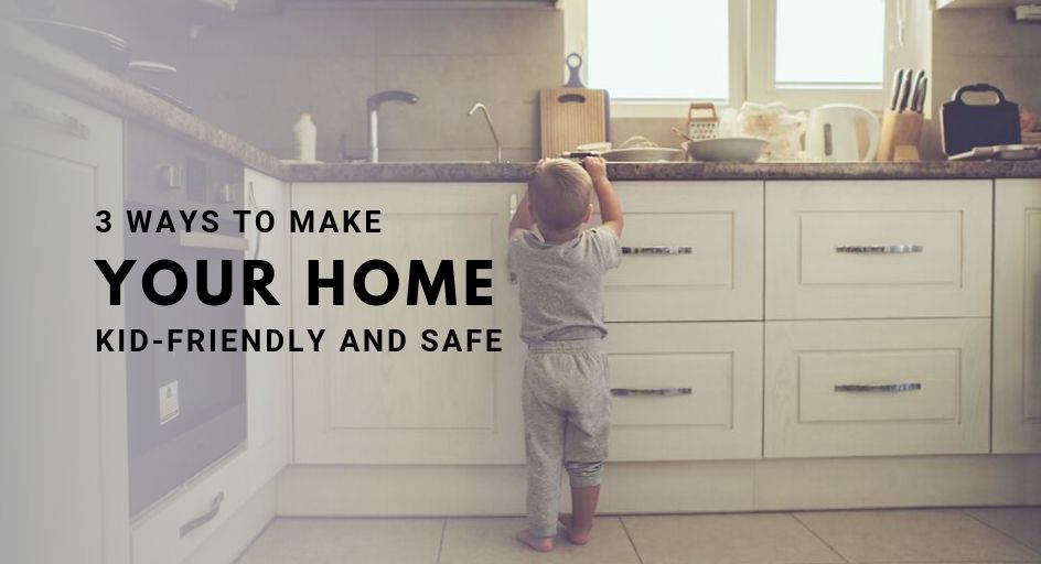 blog image of a small child alone in the kitchen; blog ...